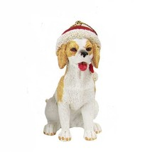 Beagle w/Santa Hat Ornament - $12.95