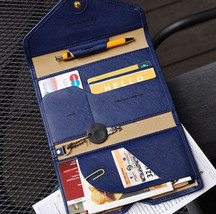 Multi Function Passport Wallet Credit Card ID Holder Cover Bag for Women... - £10.10 GBP