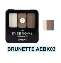 ABSOLUTE NEW YORK NEW HD EYEBROW KIT COLOR: BRUNETTE  AEBK03 - $3.91