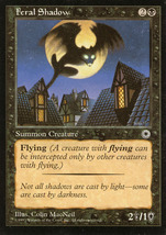 Magic: The Gathering: Mirage - Feral Shadow - $0.25
