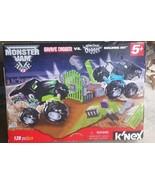 K'nex Monster Jam Grave Digger vs. Son-Uva Digger Building Set 128 pc NIP - $79.19