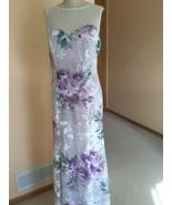 Women's Dress,XL,White,Floral,Sleeveless  ,Lafayette148,NWOT - $138.60