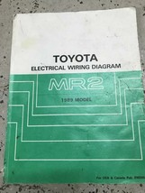 1989 Toyota MR2 Electrical Wiring Troubleshooting Diagram EWD ETM OEM  - $79.15