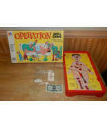 1965 Hasbro Milton Bradley Operation Skill Game Complete Working - $24.48
