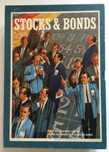 3M Vintage Stocks And Bonds Bookshelf Board Game Complete 1964 - $19.99