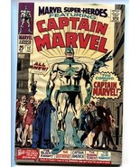 Marvel Super-Heroes #12 First appearance Captain Marvel comic book first... - $126.10