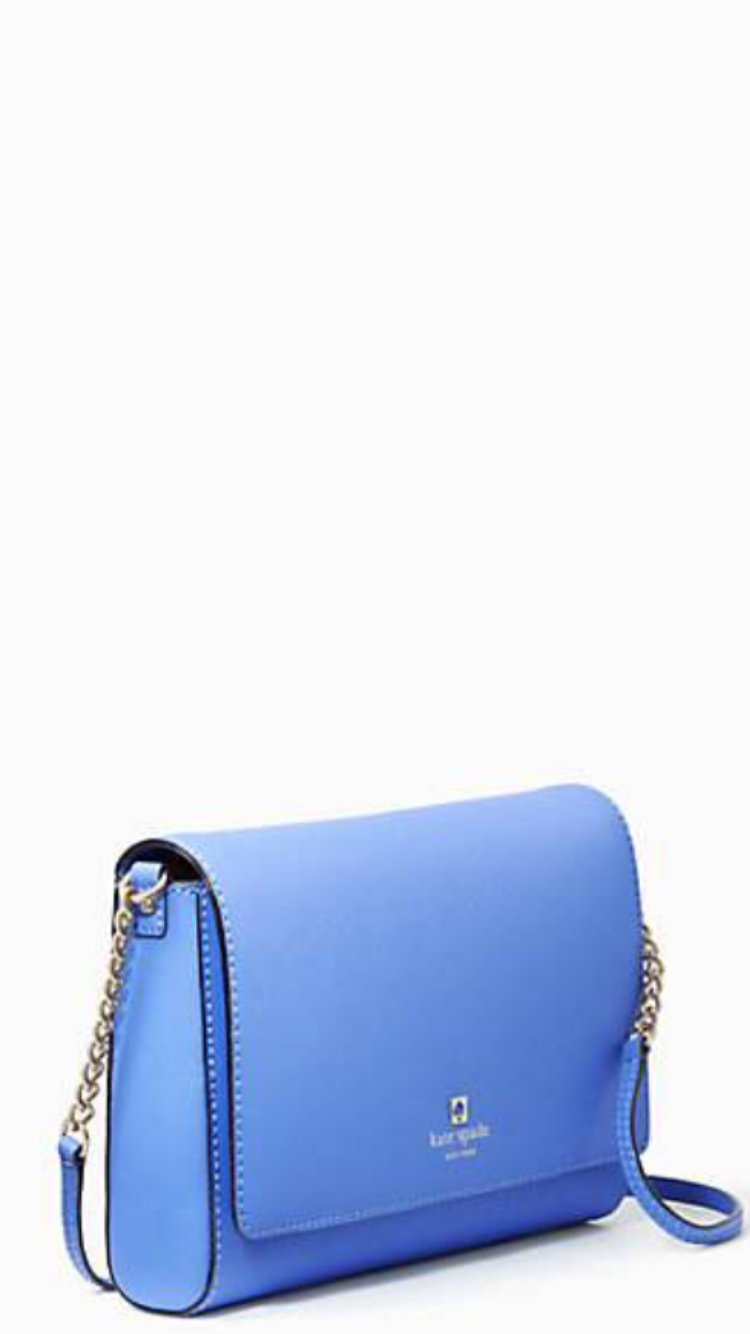 Kate Spade New York Charlotte Street Alek Shoulder Bag Blue
