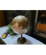 Vintage Political Decorative Globe Students School Office Educational ... - $103.79