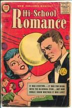 Hi-School Romance #60 1957- Harvey-Bob Powell art-beauty tips-complexion... - $29.10