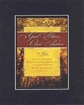 God Bless Our Pastor . . . 8 x 10 Inches Biblical/Religious Verses set i... - $11.14