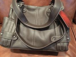 Tignanello Perfect 10 Pebble Leather Handbag Brown NWT - $89.00