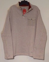 New! Woolrich Men's DRIFTER Fleece Pullover Sweater Oatmeal Sz L MSRP $6... - $351,84 MXN
