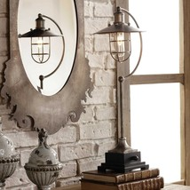 "MODERN URBAN WAREHOUSE DECOR 26"" AGED METAL TABLE LAMP TOLEDO UTTERMOST - $217.80"