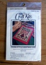 Christmas Card Cross Stitch KIT Better Homes and Gardens Craft sampler s... - $7.05