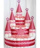 Princess Diaper Cake/ Princess Castle Diaper Cake/ Princess Baby shower ... - $98.99