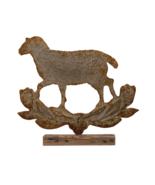 Sheep on Wood Base - $123.75