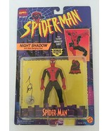 Marvel Comics Spider-Man Animated Series Night Shadow Action Figure Toy ... - $25.00