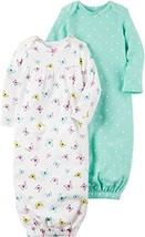 Carter's Baby Girls' 2-Pack Floral Gown Set 3 Months - $27.46