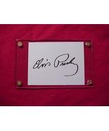 ELVIS PRESLEY  Autographed Signed Signature Cut w/COA - 30704 - $450.00