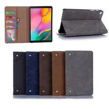 Leather Magnetic Stand Case Cover For 2019 Samsung Galaxy Tab A 8.0 SM P... - $100.85