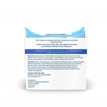 Neutrogena Cleansing Fragrance Free Makeup Remover Facial Wipes, Daily Cleansing - $37.19