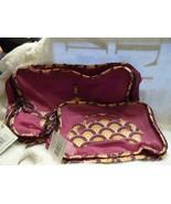 Vera Bradley Medium & small Packing Cube Travel Bag Plum Crazy pattern  - $65.00