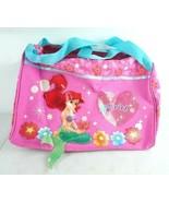 Little Mermaid Ariel School Gym Travel Bag Disney - $32.69