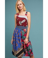 NWT ANTHROPOLOGIE MILDRED ASYMMETRICAL DRESS by MOULINETTE SOEURS 14 - $113.99