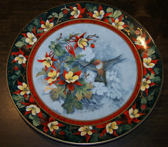 Royal Doulton Collector Plate - The Rufous Hummingbird By Theresa Politowicz Ex. - $39.99