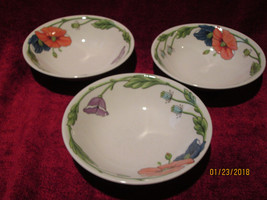 Villeroy & Boch Amapola set of 3 cereal bowls - $34.60