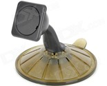 """360"""" Rotation 3.5"""" GPS Suction Cup Stand Holder for TomTom GO - Black"""