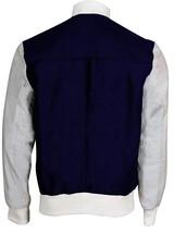 Baby Driver Jacket Ansel Elgort Baseball Varsity Bomber Cotton Jacket image 4