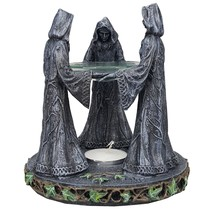 Triple Goddess Mother Maiden Crone Ceremonial Oil Diffuser Decorative Ac... - $21.77