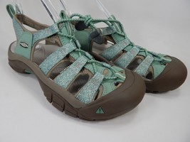 Keen Newport H2 Size US 7 M EU 37.5 Women's Sports Sandals Green Brown