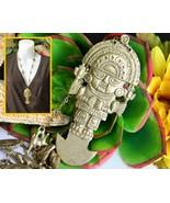 Tumi Pendant Necklace Peruvian Incan Andean Sun God Tribal Peru Llama - $38.95