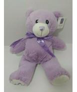 Bobbie Bear Plush purple Bridestowe Lavender Estate tag Heat Pack microw... - $39.59