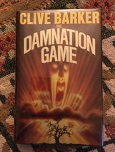 Clive Barker The Damnation Game -1st UK 1985 -SIGNED by Clive Barker - $122.50