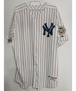 Size 48 Majestic New York NY Yankees 2009 Inaugural Season Baseball Jersey - $39.55