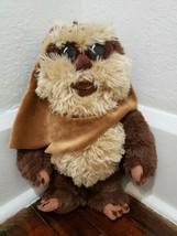 "Disney Store Star Wars Ewok 14"" Wicket Plush - $19.34"