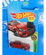 Hot Wheels 2017 Factory Set New For 2017 HW Exotics '15 Mercedes-AMG GT Red - $4.00