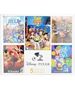 New Disney Pixar CEACO 5 Jigsaw Puzzle Set Toy Story 2 Cars The Incredibles - $54.19