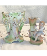 Adorable vintage Victorian angel vase and victorian maidens vase Paul's ... - $20.99