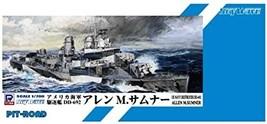 Pit Road 1/700 Sky Wave Series US Navy Destroyer Allen M. Sumner Plastic SPW53 - $21.00