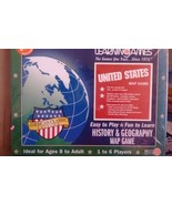 Lot of sealed history and geography game, vintage rummy card and puzzler... - $26.17