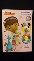 DISNEY Doc McStuffins / Sofia The First / Minnie Jumbo Coloring Activity... - $8.00
