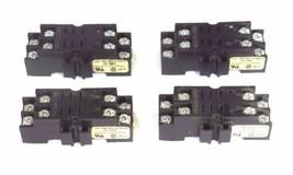 Lot Of 4 Allen Bradley 700-HN116 Ser. B Relay Base Sockets 10A 300V 700HN116 - $21.00