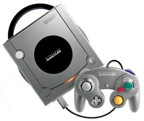 USED NINTENDO GAMECUBE CONSOLE Silver Japan RARE