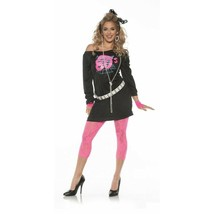 Underwraps Awesome 80s Retro Diva Dancer Adult Womens Halloween Costume ... - $27.97