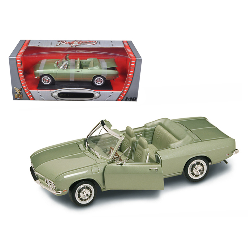 1969 Chevrolet Corvair Monza Green 1/18 Diecast Model Car by Road Signature 9249