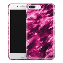 Casestry | Pink And Black Storm Brush Strokes | iPhone 7 Plus Case - $11.99